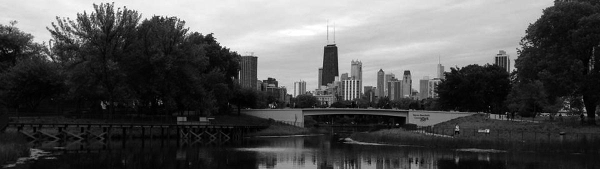 chicago_lincolnparkskyline_bw